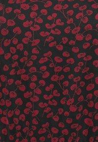 Anna Field - Maxi dress - black/red - 2