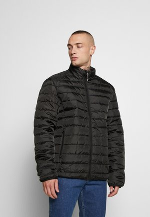 ONSGEORGE QUILTED HIGHNECK - Light jacket - black