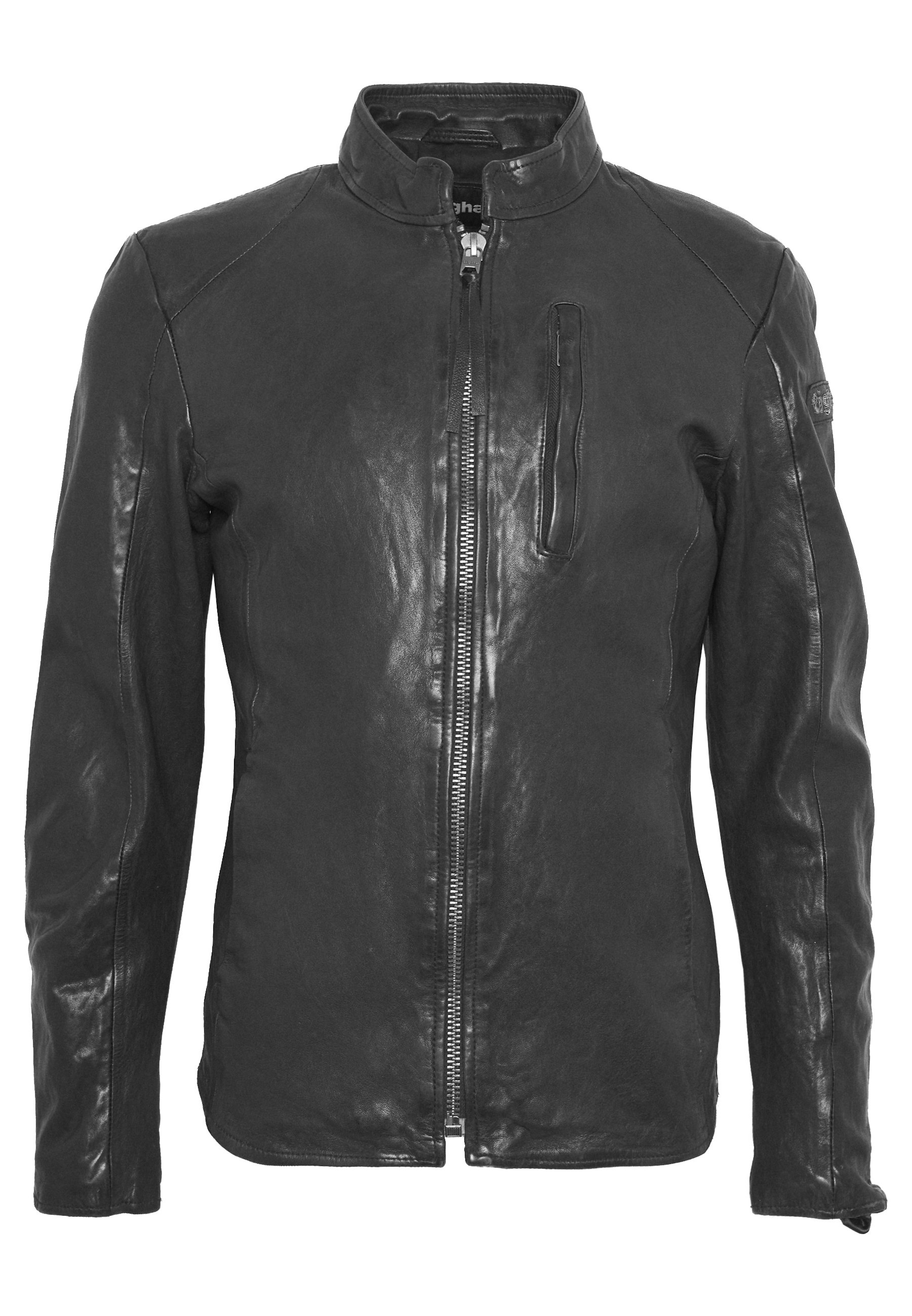 Tigha WESNEY - Veste en cuir - black