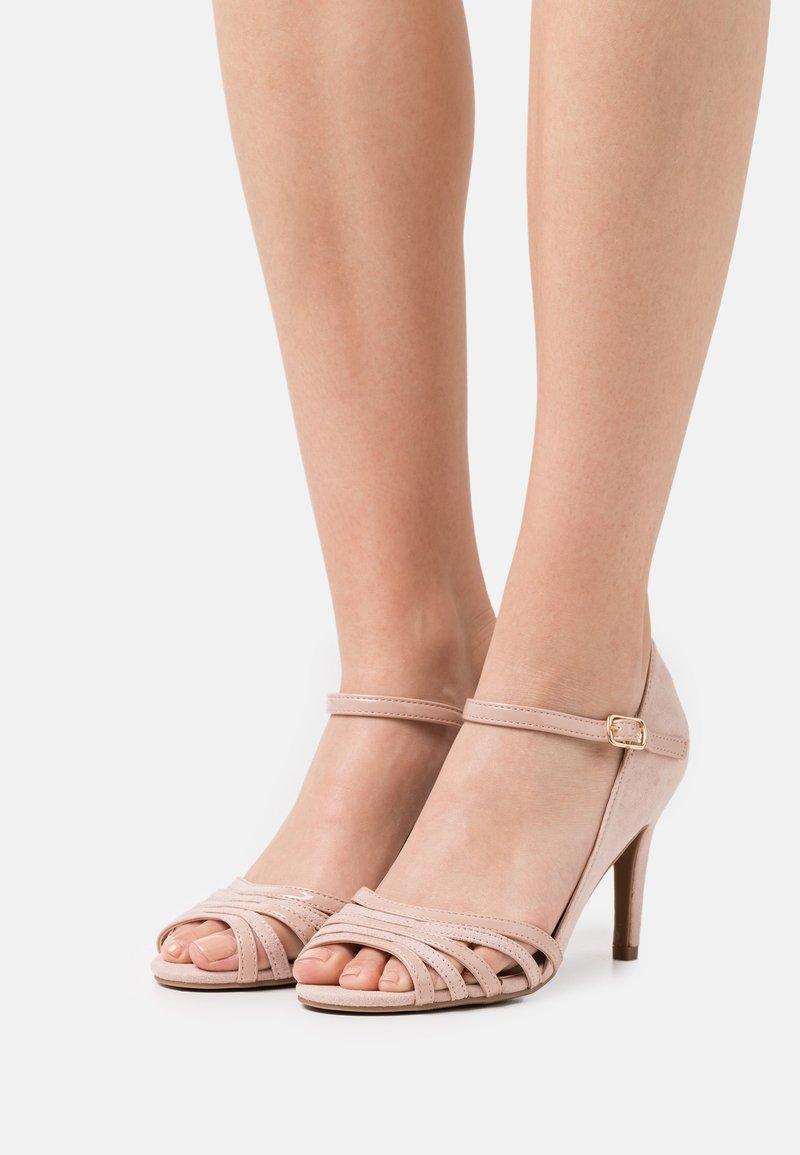 Anna Field - COMFORT - Sandaler med høye hæler - light pink