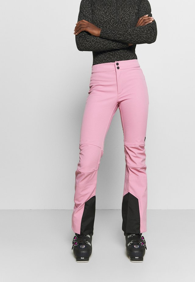 STRETCH PANTS - Talvihousut - frosty rose