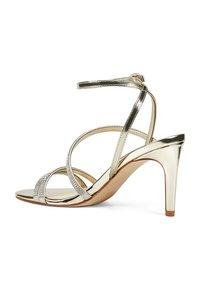 Nine West - High heeled sandals - gold - 2