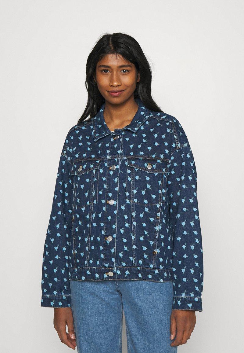 Monki - Denim jacket - blue medium
