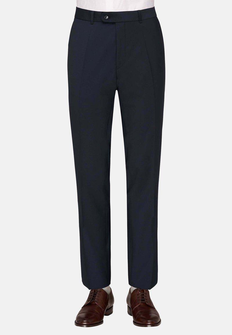 Carl Gross - Suit trousers - blau