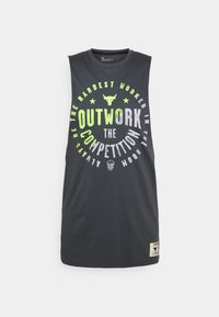 PROJECT ROCK OUTWORK TANK - Top - pitch gray