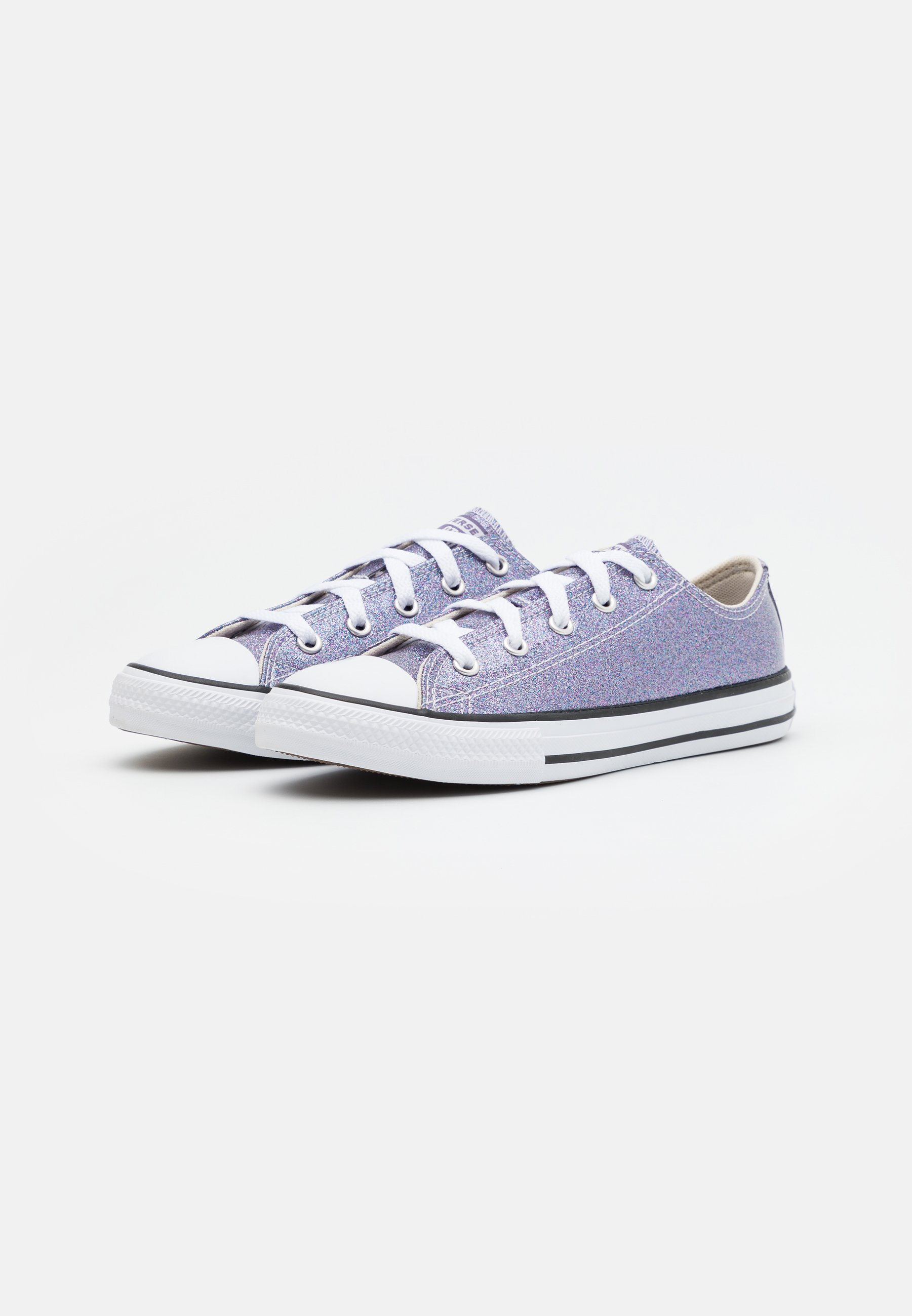 CHUCK TAYLOR ALL STAR GLITTER - Sneakers basse - thunder/white/black