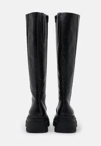 Vagabond - CARLA - Platform boots - black - 3