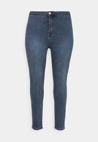 Glamorous Curve - LADIES - Jeans Skinny Fit - mid stonewash - 4