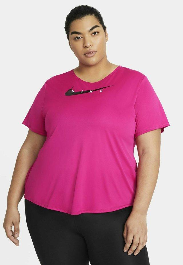RUN PLUS - T-shirt imprimé - fireberry