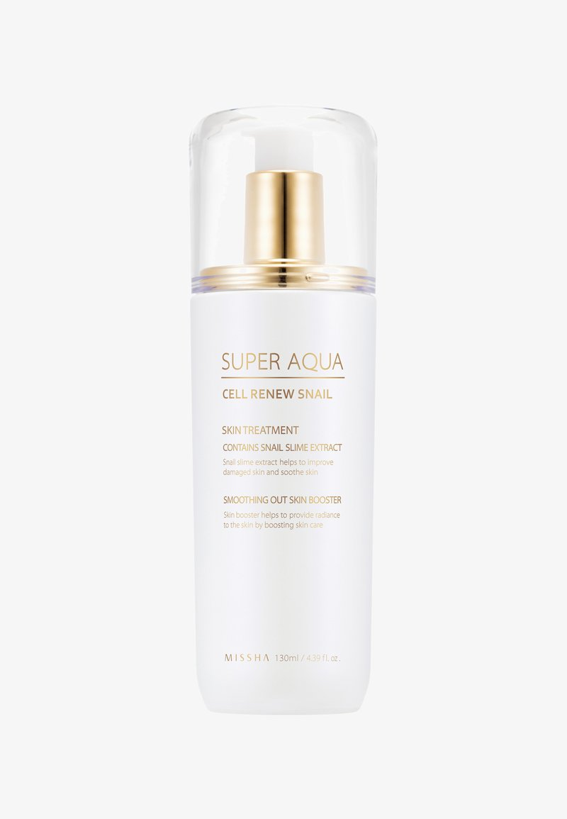 Missha - SUPER AQUA CELL RENEW SNAIL SKIN TREATMENT 130ML - Face cream - neutral