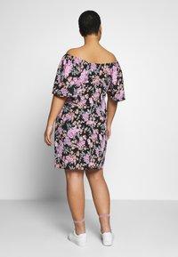 Fashion Union Plus - ROSE DRESS - Day dress - black - 2