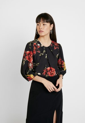 ROSE FLORAL 3/4 BALLOON SLEEVE - Blouse - multi