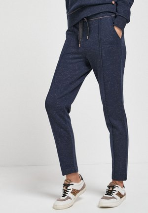Tracksuit bottoms - metallic blue