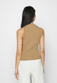 NA-KD - NA-KD X ZALANDO EXCLUSIVE - RIBBED - Top - beige - 2