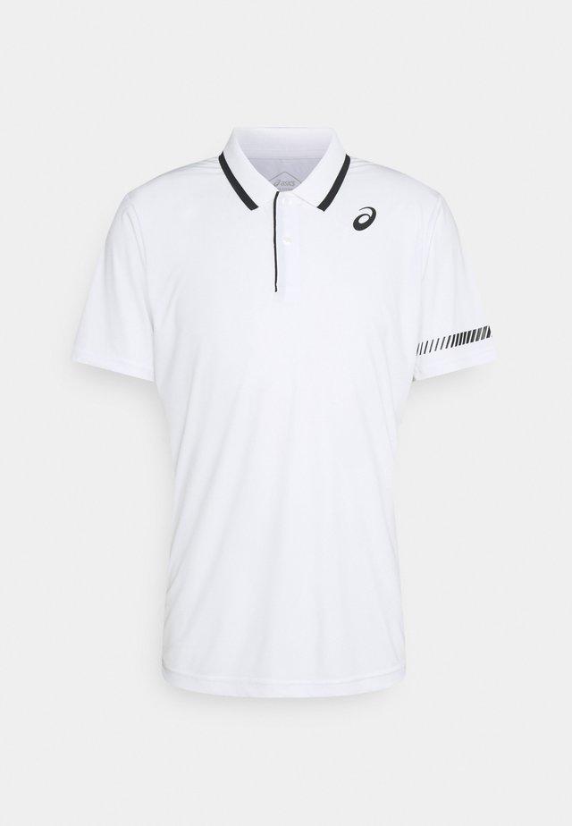 COURT - Polo shirt - brilliant white