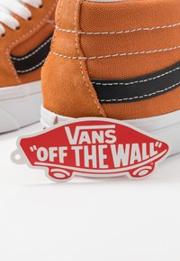 Vans - SK8 MID UNISEX - High-top trainers - apricot buff/true white - 5