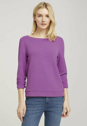 Sweatshirt - plum blossom lilac