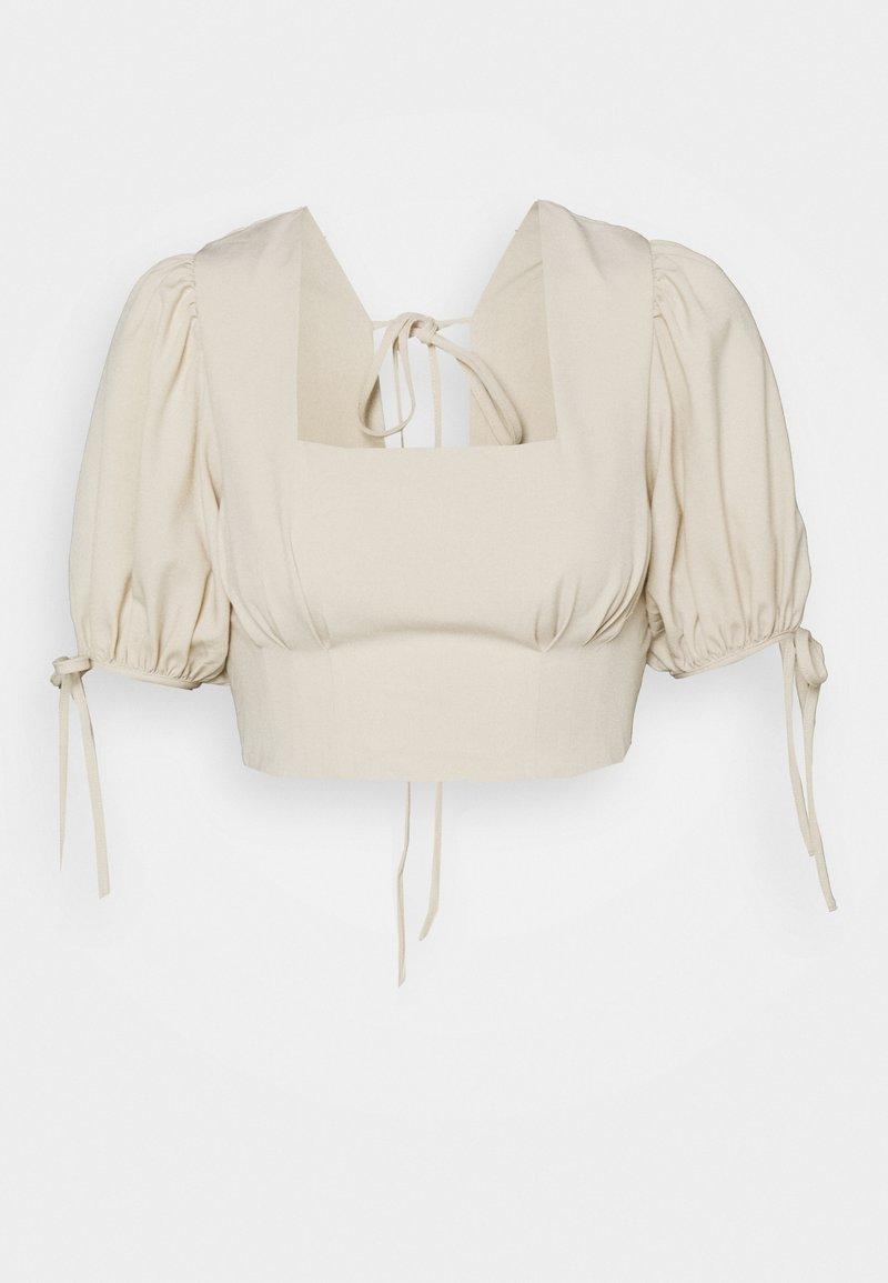 Fashion Union - LESINA TOP - Blouse - cream