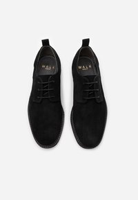 Walk London - SLICK DERBY - Smart lace-ups - black - 3