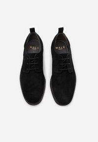 Walk London - SLICK DERBY - Eleganckie buty - black - 3