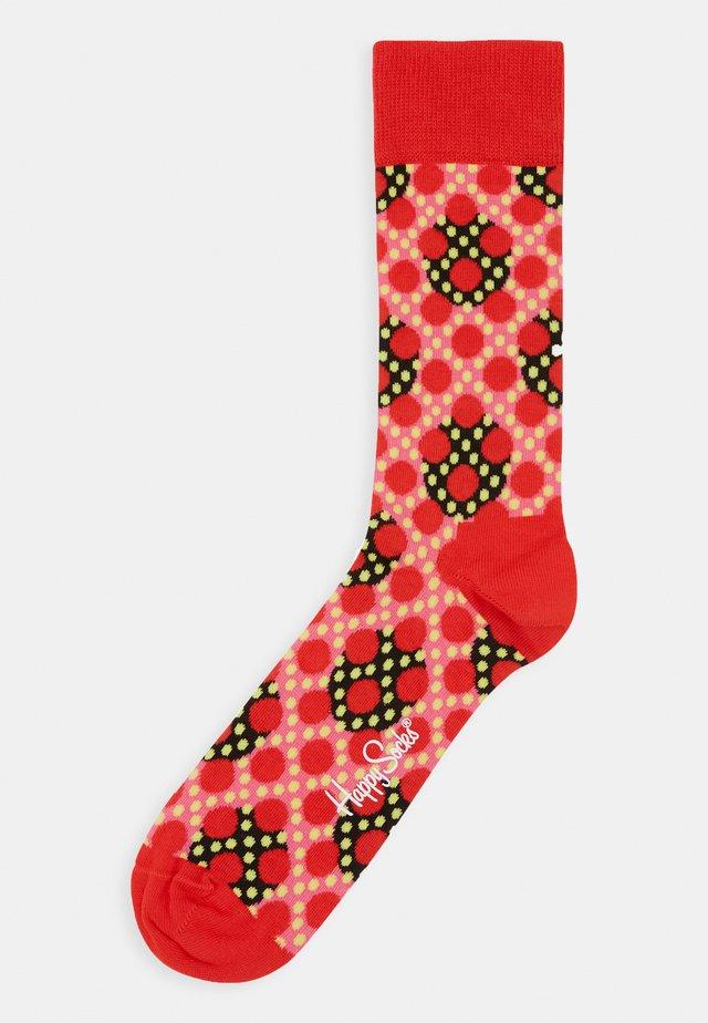 DOTS SOCK - Socks - medium red