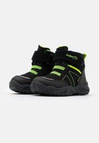 Superfit - GLACIER - Winter boots - schwarz/gelb - 1