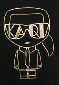 KARL LAGERFELD - IKONIK ART DECO  - Print T-shirt - black - 2