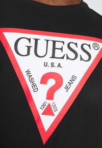 Guess - ORIGINAL LOGO - T-shirt con stampa - jet black - 5