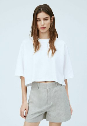 MIRIAM - Basic T-shirt - blanco