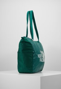 The North Face - STRATOLINE TOTE - Sports bag - night green/tin grey - 3