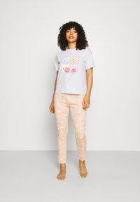 Women Secret - BED - Pyjamas - light grey melange - 1