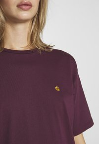 Carhartt WIP - CHASY - Camiseta básica - shiraz - 4
