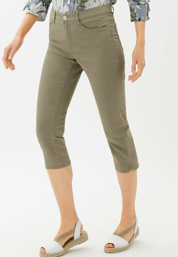 MARY - Trousers - light khaki
