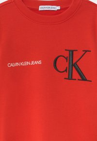 Calvin Klein Jeans - RAISED MONOGRAM - Mikina - red - 2