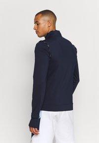 Lacoste Sport - TRACK JACKET - Training jacket - navy blue/white - 2