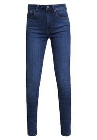 G-Star - 3301 HIGH SKINNY - Jeans Skinny Fit - medium blue aged - 4