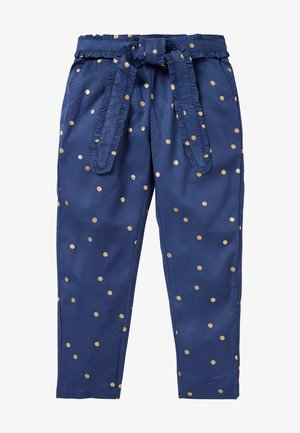 Trousers - segelblau, goldene tupfen