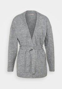 Anna Field - BELTED CARDIGAN  - Kardigan - mottled grey - 0