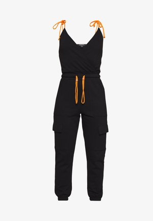 TIE STRAP DETAIL - Tuta jumpsuit - black