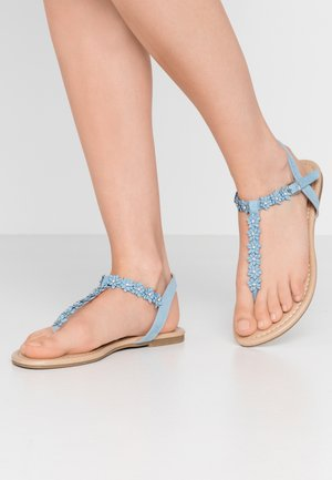 T-bar sandals - light blue