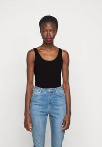Anna Field Tall - 2 PACK - Top - white/black - 4