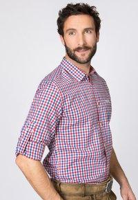 Stockerpoint - PORTOS - Shirt - blue/red - 3