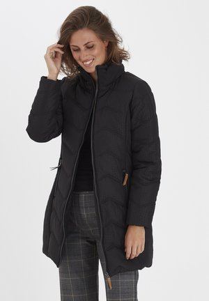 FRLAPRINT 2 OUTERWEAR - Down coat - black mix