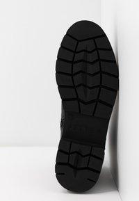 JETTE - Platform ankle boots - black - 6