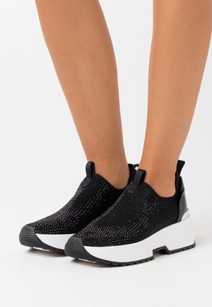 COSMO STRETCH - Slip-ons - black