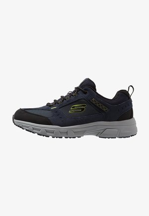 OAK CANYON - Sneaker low - navy/lime