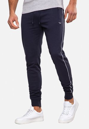 MORRIS - Tracksuit bottoms - navy