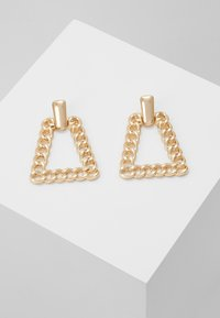 ERASE - CHAIN PYRAMID - Pendientes - gold-coloured - 0