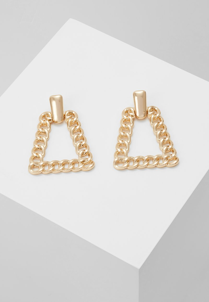 ERASE - CHAIN PYRAMID - Pendientes - gold-coloured