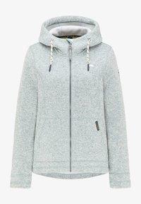 Schmuddelwedda - Fleece jacket - rauchmint melange - 4